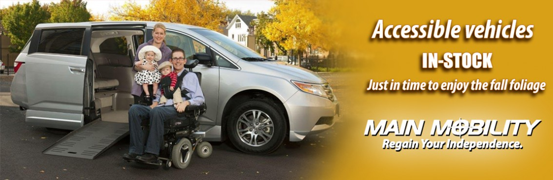 Fall Savings are here at Main Mobility!