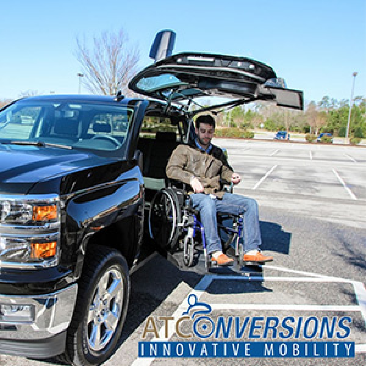 Mobility Ventures Mv 1 >> ATC Wheelchair Accessible Trucks New York | Main Mobility